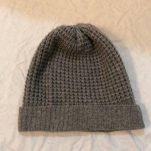 madeleine thompson holby waffle knit cashmere hat